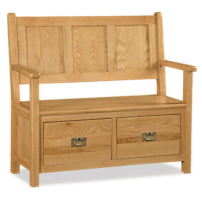 Oakvale Hallway Bench / Hall Bench With Shoe Storage / Hallway Seat  • 391.96£