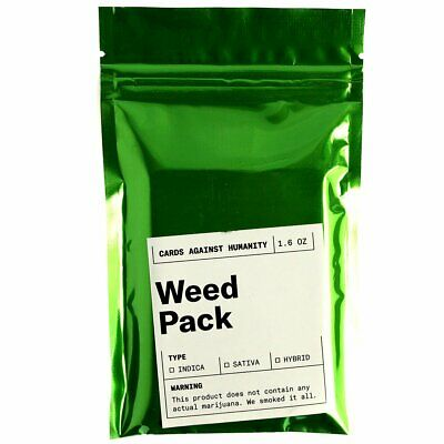 AU15.20 • Buy Cards Against Humanity Weed Pack 30 New Cards