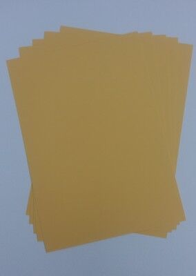 £0.99 • Buy A4 Natural 100% Recycled Brown Kraft Craft Card 170gsm - Weddings, Invitations