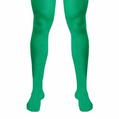 Mens Tights For Robin Hood Medieval  Elf For Peter Pan Xmas Fancy Dress  • 2.40£