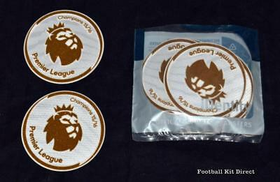 Leicester City 2015 Champions Badge/Patch Player Size Premier League Sporting ID • 10.68$