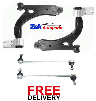 £68.99 • Buy For Ford Fiesta St150 05-08 Front Wishbones Suspension Arms Anti Roll Bar Links