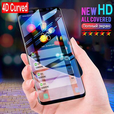 $ CDN2.61 • Buy Full Cover Tempered Glass Screen Protector For Samsung Galaxy S8 Edge S9 S9+/New