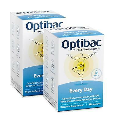 £12.40 • Buy Optibac Probiotics For Every Day - 30 And 90 Capsules
