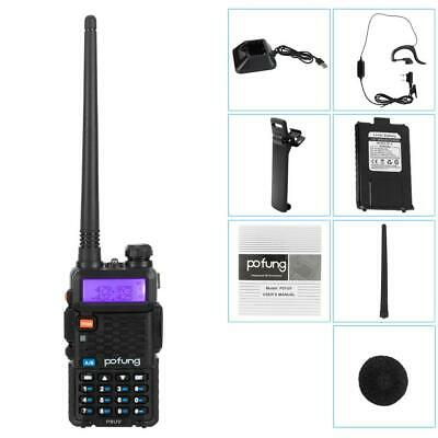 Baofeng UV-5R LCD Dual Band UHF VHF Walkie Talkie Ham Two Way Radio + Earpiece • 18.95£