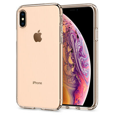 AU15.60 • Buy For Apple IPhone X, XS, XS Max, XR Case Spigen® [Liquid Crystal] Clear Cover