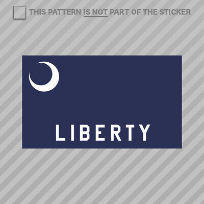 $3.99 • Buy Fort Moultrie Flag Sticker Self Adhesive Vinyl Militia Liberty