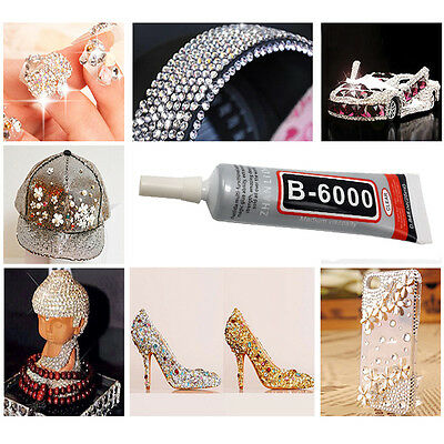 AU6.19 • Buy B6000 Jewelry Glue Phone Cover Soft Glue Diy Mobile Phone .Shell Beauty T
