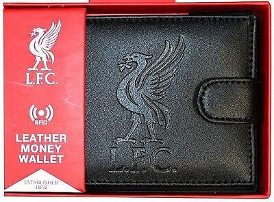 £15.80 • Buy Liverpool Fc Rfid - Leather Football Sports Money Wallet Purse Lfc Gift