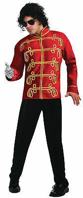 Michael Jackson Thriller 80s Red Military Prince Jacket Adult Mens Costume Icon • 68.93£
