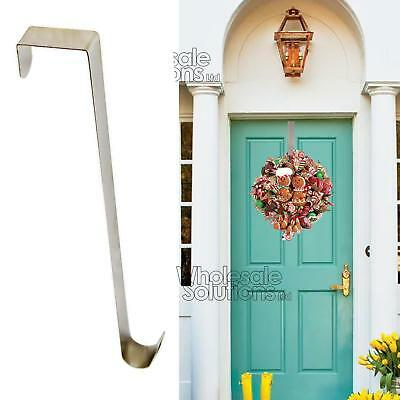 Christmas Winter Wreath Door Hanger Metal Hook Xmas Decoration 28cm Reef Craft  • 4.95£