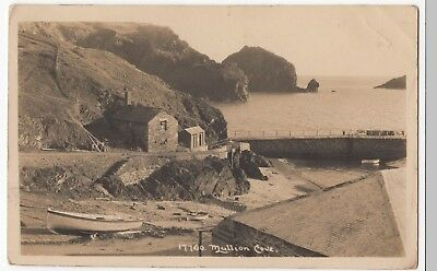 £6 • Buy Cornwall; Mullion Cove RP PPC, 1930 St Ives PMK, By Hawke Of Helston
