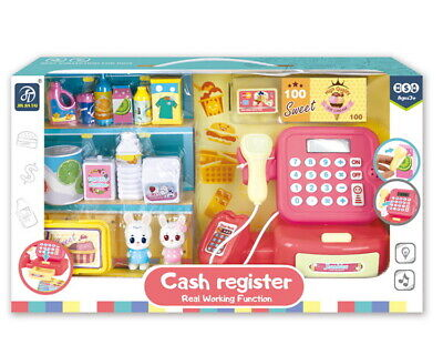 £13.99 • Buy Kids Battery Operated Supermarket Till Cash Register Toy Pretend Play
