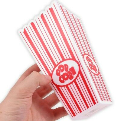 10x MOVIE NIGHT POPCORN BOXES Reusable Washable Cinema Film Snack Treat Holders • 11.10£