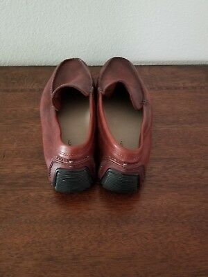 Rockport Mens Size 11M Brown Leather Penny Loafers Driving Shoes APM 726673  • 18.60£