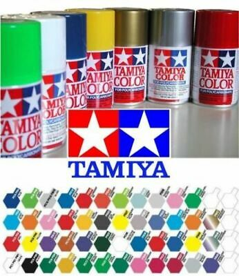 Tamiya 100ml Polycarbonate Lexan PS For RC Car Model Spray Paint PS-1 To PS-30 • 5.94£