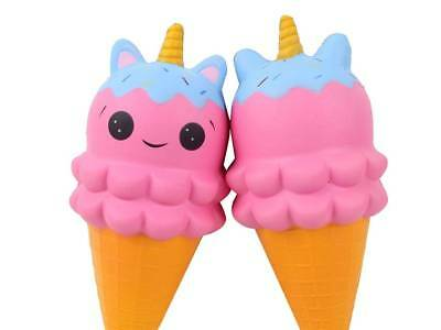AU20 • Buy Jumbo Soft Squishes Squishy Slow Rising Unicorn Ice Cream Cartoon Scented 20cm