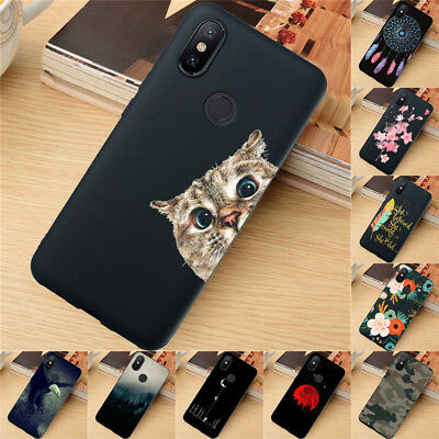 $3.17 • Buy For Xiaomi Redmi 4X 5 Plus Note 6 7 8 9 Pro Case Silicone Painted Slim TPU Cover