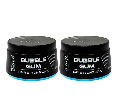 Totex Hair Styling Wax Bubblegum Pomade Scent Strong Hold ** 2 Pcs Offer ** • 8.50£