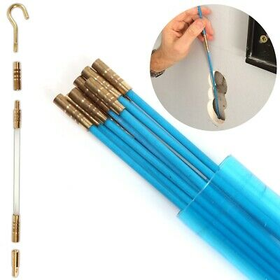 £10.21 • Buy FULL CABLE ACCESS KIT Puller Draw Rod Hand Tool Mains Wire Ceiling Duct Trunking