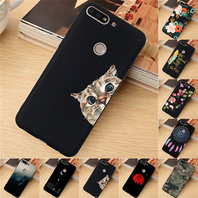 AU4.45 • Buy For Huawei Y5 Y6 Y7 Prime Y9 2018 Case Silicone Painted Slim Soft TPU Back Cover