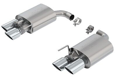 $1115.12 • Buy Borla 11951 S-Type Axle-Back Exhaust System Fits 18-19 Mustang