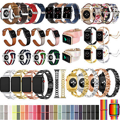AU5.59 • Buy 40mm/44mm IWatch Band Strap Bracelet For Apple Watch Series 6 5 4 SE Accessories
