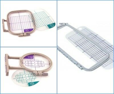 Genuine Brother Embroidery Machine Hoop Frames - NV750 F440e - S M L XL Sizes • 19.95£