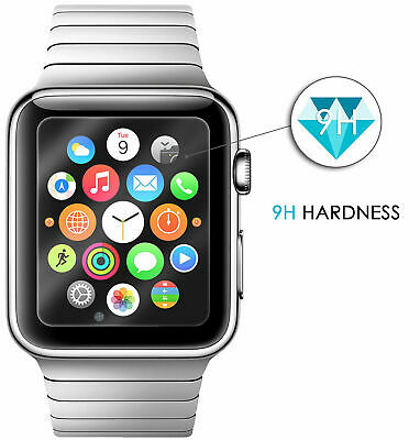 $ CDN6.46 • Buy For Apple Watch Series 4 3D Full Edge 9H Tempered Glass Screen Protector 40/44mm