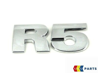 New Genuine Vw Touareg 2003-2010 Rear Trunk R5 Chrome Lettering Badge Emblem • 26.99£