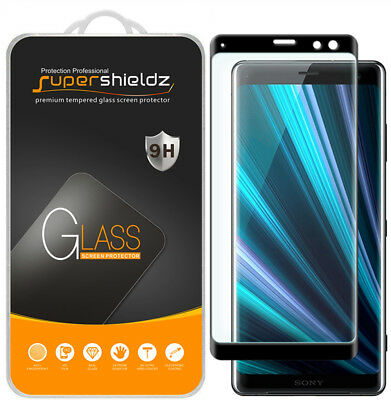 AU15.29 • Buy 2x Supershieldz For Sony Xperia XZ3 Full Cover Tempered Glass Screen Protector
