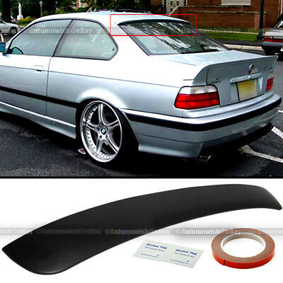 $32.99 • Buy Fit 92-98 BMW 3 Series E36 2DR Unpaited Rear Window Roof Wing Spoiler Visor