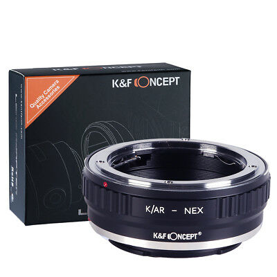 AU35 • Buy K&F Concept Adapter For KONICA AR Mount Lens To Sony E Mount NEX  A5000 A7II,A7R