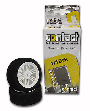 Contact RC Foam Tyres; 1/10 37Sh Electric Compound - J13705 • 5.88£