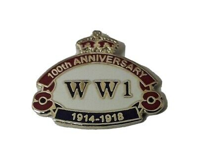 £4.99 • Buy HELP FOR HEROES BADGES - WW1 Centenary Anniversary First World War Heros Badges