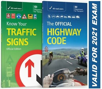 £8.97 • Buy NEW Official Highway Code Book & DVSA Know Your Traffic Signs Book 2021 Hw+Trfc
