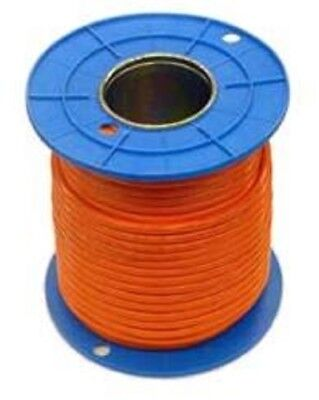 AU244.20 • Buy 4mm & 6mm  ORANGE CIRCULAR  2 , 3 , 4 Core & Earth TPS CABLE 100 METER DRUM