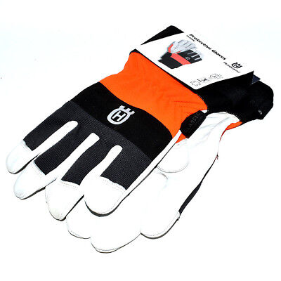 £19.69 • Buy Genuine Husqvarna Classic Protective Gloves Forestry Leather Size 10 (579379910)