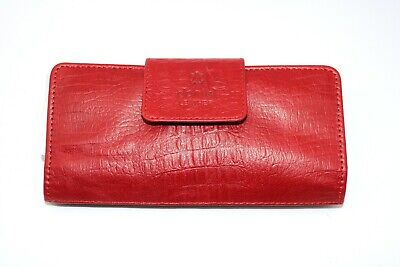 £13.99 • Buy New Fashion Ladies Women Real Leather Clutch Purse Wallet Long Card Holder Red