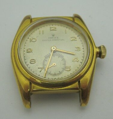$ CDN3123.42 • Buy Rolex Oyster Perpetual Watch Gold Plated Vintage