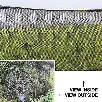 £18.99 • Buy Nitehawk Woodland Camo Ghost Net Hunting/Shooting Camouflage Hide Netting