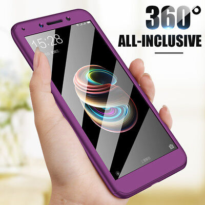 $ CDN3.86 • Buy Shockproof 360° Protective Case Cover+Film For Xiaomi 8SE Redmi Note 6 Pro 6A S2