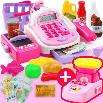 £16.98 • Buy Toy Till Kids Electronic Cash Register Pretend Supermarket Play Learning Game