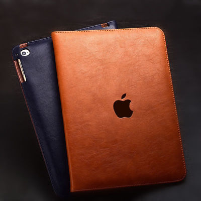 $9.89 • Buy Genuine Leather Flip Stand Cover Smart Case For New IPad 9.7  2018 A1892 A1893