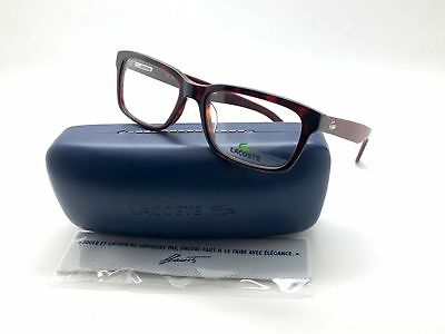 0ee1b143c00 NEW Lacoste L2672 615 52mm Red Havana Optical Eyeglasses Frames • 49.97