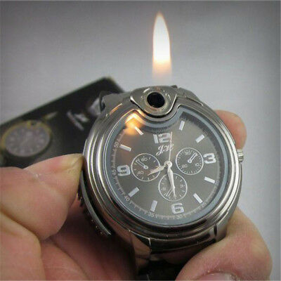 AU12.69 • Buy Military Cigarette Cigar Lighter Quartz Refillable Wrist Watches New Men Watch