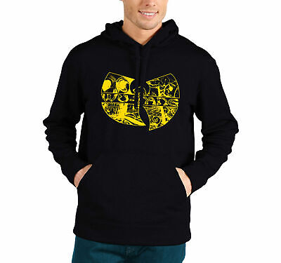 £13.99 • Buy WU TANG CLAN Hooded Inspired By Hip Hop RZA GZA OBD Tour Graveyard VIntage