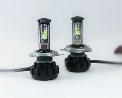 AU100 • Buy H3 Genuine CREE LED Headlight Fog Light Bulbs Globes 6000K HID White - Pair