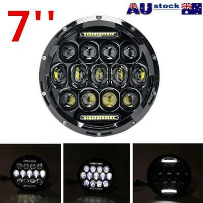 AU45.91 • Buy 7 Inch 200W Round LED Headlights Kit For Jeep Wrangler TJ JK 97-17 AU