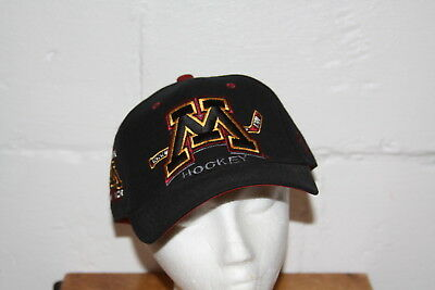 a28f84d809d0a5 EUC Zephyr Minnesota Golden Gophers Hockey Fitted Hat Cap Sz 7 3/8 • 26.99